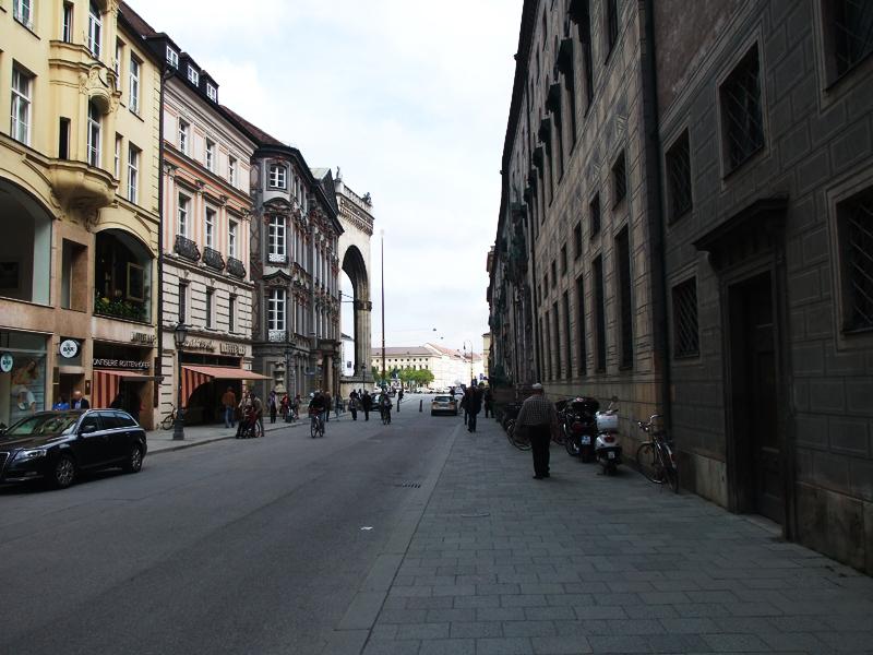 monachium street munich