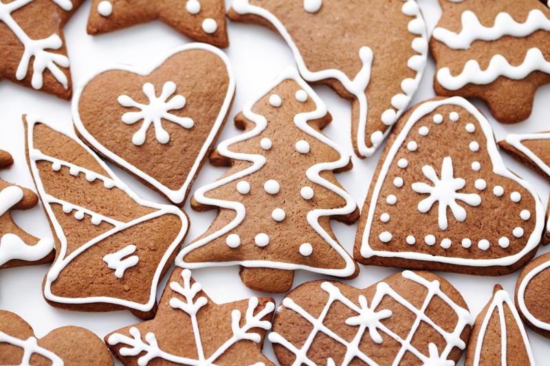 various gingerbreads