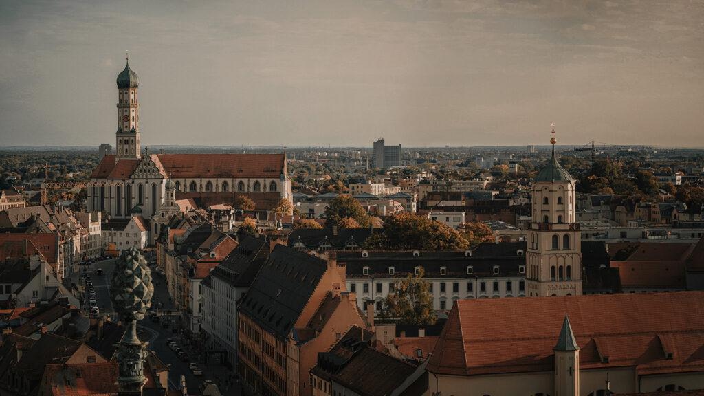 augsburg view